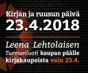 Kirjan ja Ruusun päivä 23.04.2018